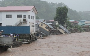Honiara Flooding-PM Communications